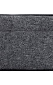 För Apple ipad mini 4/3/2/1 väska täcker stötdämpande fullkroppsväska fullfärg mjuk textil