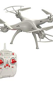 Drone 4 Kanal 6 Akse 2.4G - Fjernstyret quadcopter Fjernstyret Quadcopter Fjernstyring 1 Manual 1 USB-lader Kabel Propeller 1 Skruetrækker