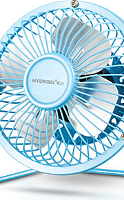 HYUNDAI 4 inch Mini USB Fan Quiet and Cool Small and Convenient