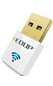 Edup usb wirelss wifi adapter 600mbps dual band 11ac mini trådlöst nätverkskort dongle ep-ac1619