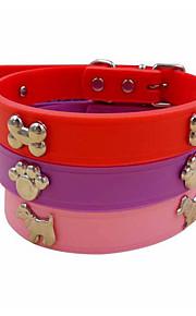 El perro de mascota collar de tracción de goma pequeño perro pomeranian táctica bichon collar para mascotas