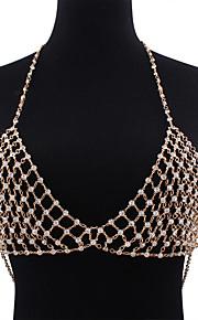 Dame Kropssmykker Krops Kæde / mavekæde Mode Legering Smykker For Speciel Lejlighed Afslappet 1 stk.