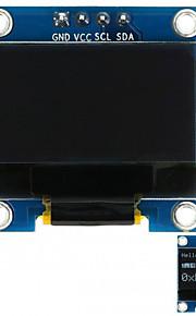 0.96 128x64 i2c interface couleur blanche module d'affichage oled pour arduino