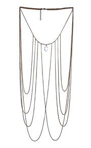 Dame Kropssmykker Krops Kæde / mavekæde Punk Stil Magnetterapi Håndlavet Tyrkisk Mode Legering Geometrisk form Smykker ForFødselsdag