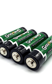 Gaoneng max aaa zink tørcelle batteri 1.5v 40 pak