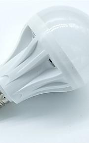 7W E27 Smart LED-lampe A60(A19) 30 SMD 2835 550 lm Varm hvit Kjølig hvit AC 220-240 V 1 stk.