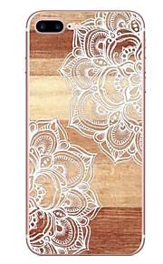 애플 아이폰 7 7 플러스 6s 6 플러스 케이스 커버 대각선 꽃 패턴 hd 페인트 tpu 소재 소프트 케이스 전화 케이스