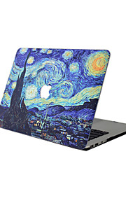 For New MacBook Pro 13 15 Air 11 13 Pro Retina 13 15 Macbook 12 Case Cover PVC Material Oil Painting MacBook Case
