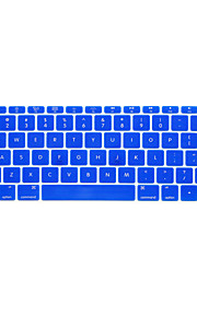 For MacBook 12 inch Keyboard Cover Protector US English Arabic Russian Colorful Various Colors