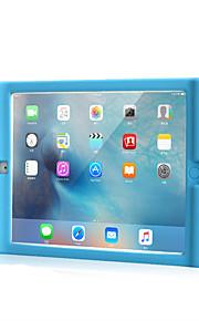 För Apple iPad ipad 2-fodral täcker stötdämpande fullkroppsväska fullfärg mjuk silikon