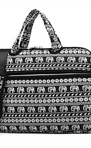 13.3 14.1 15.6 inch Cute Animal Elephant Laptop Shoulder Bag with Strap Hand Bag for Surface/Dell/HP/Samsung/Sony etc