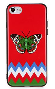 Caso para maçã iphone7 7 mais padrão de borboleta padrão para iphone 6s mais 6 mais 6s 6