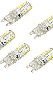 2W 2-pins LED-lampen 32 SMD 2835 150-250 lm Warm wit Koel wit AC230 V 5 stuks