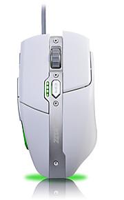 Ajazz-aj330 firstblood 3500 dpi 6 botões led óptico usb com fio mouse de jogo avagoa3050