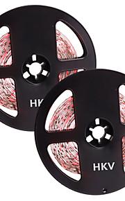 36W Flexibele LED-verlichtingsstrips 3450-3550 lm DC12 V 10 m 300 leds Warm Wit Wit Rood Blauw Groen