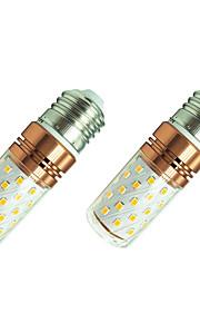 8W LED Mais-Birnen T 60 SMD 2835 800 lm Warmes Weiß Weiß 110 V 2 Stück