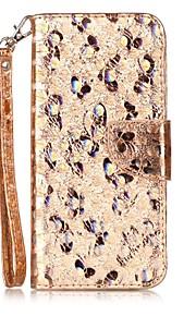 Pokrowiec na samsung galaxy s8 plus s8 pokrywka uchwyt na karty klapka walizka pełna obudowa na ciele błyszczący glitter połysk pu skóra