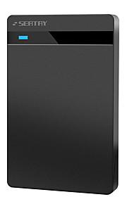 Seatay hds2130-b abs 2,5 polegadas usb3.0 caixa de disco rígido móvel sata black tool-free installation