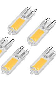 1.5W 2-pins LED-lampen T 1 COB 110-200 lm Warm wit Koel wit AC230 V 1 stuks