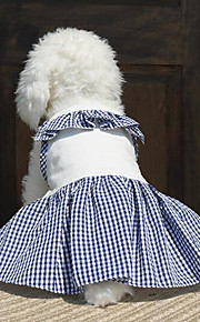 Dog Dress Dog Clothes Party Casual/Daily Birthday Holiday Cosplay Cowboy Fashion Sports Wedding Halloween Christmas New Year's SolidDark
