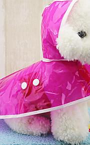 Perro Impermeable Ropa para Perro Casual/Diario Sólido Fucsia Verde Azul