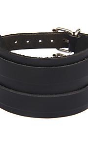 Women's Men's Leather Bracelet Jewelry Natural Gothic Movie Jewelry Handmade Vintage Bohemian Punk Stretch Rock leather Circle Geometric