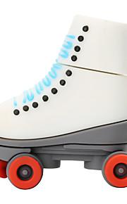 뜨거운 새로운 만화 빨간 바퀴 스케이트 usb2.0 32 기가 바이트 플래시 드라이브 u 디스크 메모리 스틱
