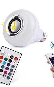 12W Smart LED Glühlampen 28 SMD 1000 lm RGB Bluetooth Ferngesteuert Dekorativ Abblendbar AC100-240 V 1 Stück