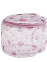 bolsa de lavado mujeres calcetería sujetador lencería protección de malla (de color ramdon)