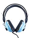 Kanen kilometros-740 auriculares estereo con estilo (azul)
