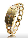 Women\'s Fashionable Gold Alloy Quartz Bracelet Watch