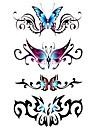 Tatuagens Adesivas Series Animal Estampado A Prova d\'agua Feminino Girl Adolescente Tatuagem Adesiva Tatuagens temporarias