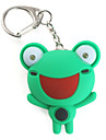 Frog Keychain with LED Flashlight and Sound Effects (Random Color)