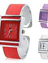 Women\'s PU Analog Quartz Bracelet Watch (Assorted Colors)