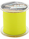 Abrasion Resistant Monofilament Fishing Line (300m long, 12.3kg, Yellow)