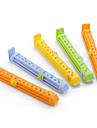 еда герметизации зажим с отметкой данных (10см, 5-Pack)