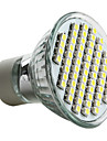 4W GU10 Lampadas de Foco de LED MR16 60 SMD 3528 180 lm Branco Natural AC 220-240 V
