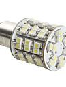 1157 4W 60x3528 SMD bílé LED brzdové světlo (DC 12V)