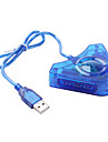 USB 컨트롤러 컨버터로 PS2 (파란색)