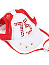 Sports Cap for Dogs (XS-XL, Assorted Colors)