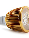 5W GU5.3(MR16) Faretti LED MR16 3 LED ad alta intesita 450 lm Bianco DC 12 V