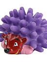 chirriante juguete mini erizo para perros