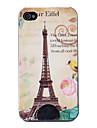 Rueckseiten Huelle fuer iPhone 4 und 4S mit Eiffelturm Motiv (Multi-Color)