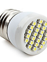 E26/E27 1 W 24 SMD 3528 80 LM Natural White Spot Lights V