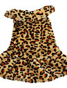 Fluffy Style Warm Soft Dress for Dogs (XS-XL, Brown)