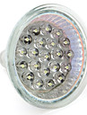 GU10(220V-240V) / GU5.3 MR16(12V)1W 21 Dip LED 65 LM Warm White / Natural White MR16 LED Spotlight