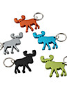 Moose Shaped Bottle Opener Keychain (Random Color)
