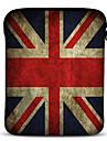 Ison Brittanian lippu kuvioinen neopreeni tablettisukka 10 tuumaiselle Samsung Galaxy Tab2:lle, iPadille, Motorola Xoomille