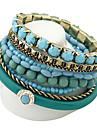 Alloy Bracelet Multilayer Bohemia Bracelet Ocean Style Refreshing Beads Bracelet