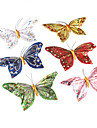 decorative beau papillon magnetique (couleurs aleatoires)